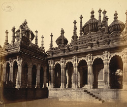 General view of the Maqbaras (royal tombs) of the Junagadh Nawabs, Junagadh 817